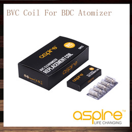 Wholesale Dual Coil Atomizer Vivi Nova - Aspire BVC Coils For Aspire CE5 CE5S ET ETS Vivi Nova Vivi Nova-S Mini Vivi Nova Mini Vivi Nova-S BDC Atomizers Aspire BDC Dual Coil Head
