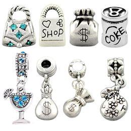 Wholesale Camera Beads - zinc alloy Camera windmill Bead and Castle Eiffel Tower Pendants Fit pandora Charms Bead Bracelets&Bangles DIY Jewelry Making