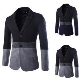 Wholesale Trajes Novio Tuxedo - Trajes De Novio New Arrival Cotton Regular Single Breasted Flat Tuxedo Winter Men's Casual Suit Jacket Color 8777