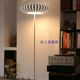 Wholesale Simple Floor Lamps - Modern Individuality Floor Lamp Acrylic Round oor Lamp Modern Simple Style Metals Floor Lamp Living Room Bedroom Light New