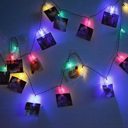 Wholesale nice christmas lights - Wholesale- ICOCO 20 LED Solar Power LED Fairy Lights Outdoor IP65 Waterproof Unique Clip-shape String Lights Nice Christmas Decoration Sale