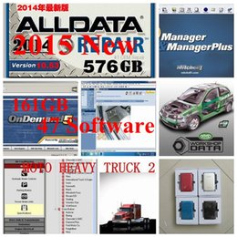 Wholesale Volvo Trucks Update - 2017 47in1 Alldata and mitchell software+Mitchell ondemand 5.8+all data 10.53 auto repair software work for all brand cars&trucks fit win7 8