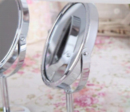 Wholesale Hd Girls - Mini Lady Girl Beauty Make Up Cosmetic Dual Side Normal Magnifying Stand Mirror mirror hd mirror