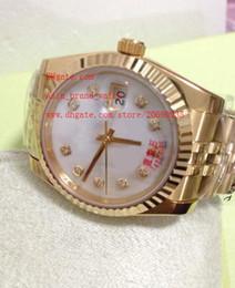 Wholesale Diamond Factory Supplier Watch - Factory Supplier Luxury AAA Brand Sapphire 36mm 228236 Diamond Automatic Mechanical Mens Men's Watch Watches top brand wristwatches
