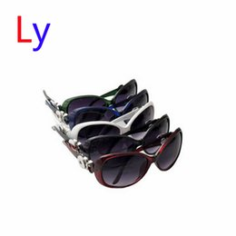 Wholesale Wholesale Plastics China - Hot noosa snap button sunglasses jewelry fashion 5 colors ginger snaps sun glasses DIY interchangeable jewelry womens Big Frame Sungla AC222