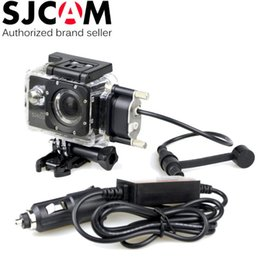 SJCAM Brand Motorcycle Waterproof Case for Original SJCAM SJ5000 Series for SJ4000 Series Charging Case for SJ5000 Plus WiFi Car Charger Coupon