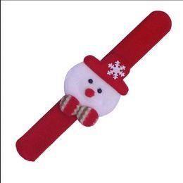 DHL Noël Patinage Cercle Bracelet Montre De Noël Enfants Cadeau Père Noël Bonhomme De Neige Cerf Nouvel An Fête Jouet Décoration De Poignet ? partir de fabricateur
