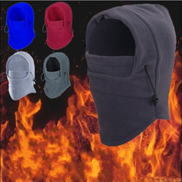 Wholesale Winter Proof - Multi Function Masked Cap For Men And Women Winter Riding Fleece Beanie Soft Dust Proof Anti Bacterial Hats Breathable 5 5wy B