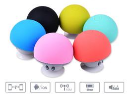 Wholesale Mini Speaker For Pc Laptop - Mini Bluetooth Speaker Mushroom Style Wireless Speakers Bluetooth Speaker Subwoofer Player For Mobile Laptop Tablet PC