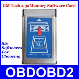 Wholesale Tech 32 Mb Card - Attractive Price 32 MB Card GM Tech-2 6 Software Available GM Tech 2 32Memory Card Supports Multi-Language