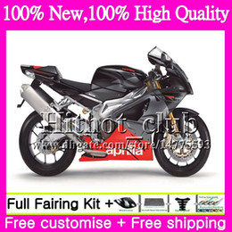 Wholesale rr motorcycles - Body For Aprilia RSV1000R Mille RSV1000 RR 03 04 05 06 07 08 Silvery grey 2HT22 RSV 1000R 2003 2004 2005 2006 2007 2008 Motorcycle Fairing