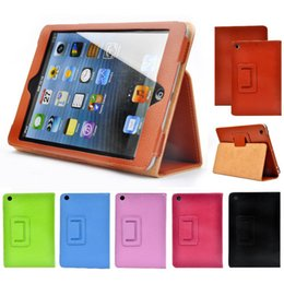 """Wholesale Auto Flip - For iPad Air Case Auto Sleep Wake Up Flip Litchi PU Leather Cover For New iPad 9.7"""" Smart Stand Holder Folio Cases"""