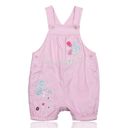 Wholesale Denim Overalls For Kids - Wholesale-Sun-O brand dungarees jeans with braces for girls denim overalls for children,pants suspend kids,cartoon costume,pink yellow
