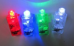 Wholesale Dazzling Laser Beams - Dazzling Laser Fingers Beams Party Flash Toys LED Lights Toys