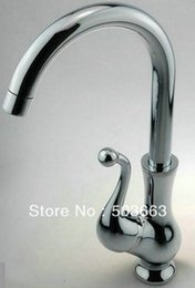 Wholesale Beautiful Taps - Wholesale-Beautiful New Chrome Kitchen Bathroom Basin Mixer Tap Faucets CM00057