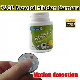 Wholesale Chewing Gum Cameras - 720P HD Chewing Gum Camera With Remote Control Motion detection