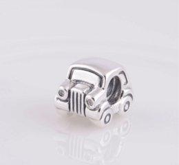 Wholesale pandora car - 2015 100% 925 Sterling Silver Love Car Charm Bead Fits European Pandora Jewelry Bracelets Necklaces & Pendants