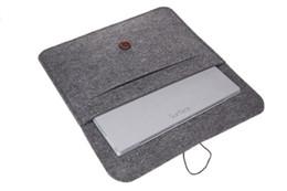Wholesale Wool Pouches - Fashion Wool Felt Sleeve Carrying Case pouch bag for Microsoft Surface RT   2   Pro   Pro 2