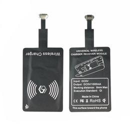 Argentina Universal Qi Cargador Inalámbrico Estándar Receptor de Carga Inteligente Receptor Bobina Receptor Para iPhone 5 5C 5S 6 6 S 7 7 más Para Android cheap qi standard wireless charger charging Suministro