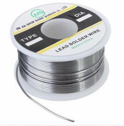 Wholesale rosin core wire - JJS 100g 1mm 1.2mm Tin Lead Rosin Core Soldering Solder Iron Wire Flux Reel Tube