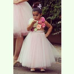 Wholesale Hot Pink Petticoat Skirts - Blush 2016 Hot Sale Petticoats Girls Ball Gown Full Crinoline Wedding Skirt Bridal Accessories Petticoats Crinoline Free Shipping
