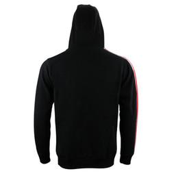 Масса эффект куртка n7 онлайн-Ролевая игра Mass Effect 3 N7 Top Coat Мужская одежда Толстовка с капюшоном Косплей Костюм Куртка Толстовка Унисекс Хлопок Спортивные костюмы