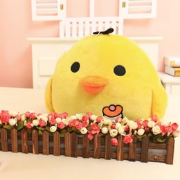 Wholesale Farm Room - Chicken Bolster Stuffed Toy Plush Toy Hold Pillow for Baby Sleeping Children Christmas Gift Decorate Room