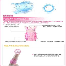 Wholesale Sex Toy Men Enjoy - Hou * Crystal Cock Ring & Pineapple Fun Fully Enjoy Sexual Pleasure Men Sex Toys Products, Penis Extension Sleeve Cockring pene order<$18no