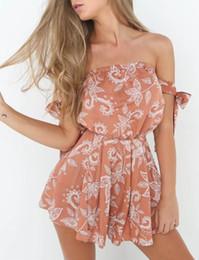 Wholesale Skirt Suit Women Sexy - New Summer Dress 2017 Two-piece suit Set Women Crop top Casual Beach Sexy off shoulder Split skirt Dot Fashion Vestidos H11163