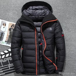 Wholesale Down Feathers Coat - winter duck men down parka feather men down jacket warm men winter coat north quilted jacket
