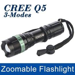 Wholesale Torch Hid Flashlight Mini - Mini LED Flashlight 2000LM Lanterna LED Torch Light CREE Q5 Zoomable 3-Modes lantern penlight Bike Light For AAA 18650 Battery