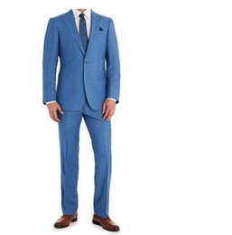 Wholesale Office Gowns - Wholesale-custom made Ball Gowns Hot sales men's suit is a two-piece leisure office party usually wear a suit (jacket and