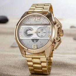 Wholesale Big Clock Digital - new DZ watches Big dial men watches top brand luxury fashion man leather watch military dz1206 Male clock relogio masculino Free shipping