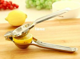 Wholesale Kitchen Helper For Vegetables - Lemon Squeezers & Reamers Fruit & Vegetable Tools convenient kitchen helper for orange lemon with stainless steel