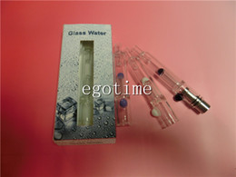 Wholesale Sub Ecig - In Stock!! Original Straight pipe Glass atomizer water pipe atomizer metal coil ecig Wax Dry Herb atomizer VS Globe protank SUB tank