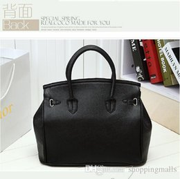 Wholesale Wholesale Black Boston Bag - DHL Free ! 2015 Hot Selling Fashion Totes Celebrity Girl Faux Leather Handbag Tote Shoulder Bags Woman HandBag Free Shipping