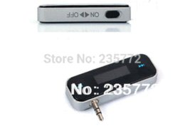 Wholesale Mp3 Player Number - Stereo audio fm transmitter, number displays mini car mp3 player, handsfree fm radio transmitter for mobile phone,for iphone M39824