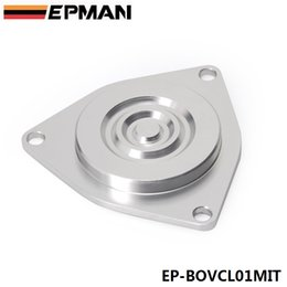 Wholesale EPMAN Turbo Bypass Valve Block Plate Blow Off Valve CBV Blocking Plate for Mitsubishi TD04HL Turbos EP BOVCL01MIT