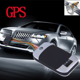 Wholesale Band Positioning - Vehicle Car GPS GSM GPRS SMS Tracker New QUAD band TK303G GPS303G gps tracker for car personal google link real position on map
