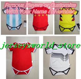 Wholesale Baby Girl Sweater Months - CQ#17 18 HAZARD Ronaldo Male U Baby Sweater (6-18 months) Age Baby POGBA Jerseys NEYMAR JR Messi Children's Soccer Boys Girls Gadgets
