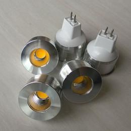 Wholesale Edison Led Spot Lamp - 10pcs MR11 5W COB LED Spot light DC12V Dimmable Warm white natural white cool white MR11 5W COB LED Bulb lamp free shipping