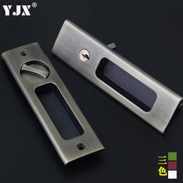 Wholesale Kitchen Door Locks - Sliding balcony door locks shift lock Shift door room bathroom invisible sliding door kitchen shift locks