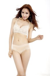 Wholesale Sexy C Cup Padded Bra - Women Sexy Underwired Full Coverage Minimizer non padded Lace Sheer Bra 34-40 C