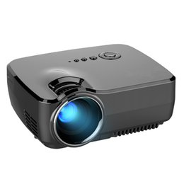 Wholesale Best Portable Led Projector - Projector 2017 Best sale Portable Led Projector HD USB HDMI LCD cinema LED Mini Video Digital Home Theater Beamer GP70