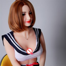 Wholesale Top Japanese Sex Toys - 2018 wholesale Male masturbate toy Sex doll with smart voice and heating system sex dolls for man top quality free shipping by DHL