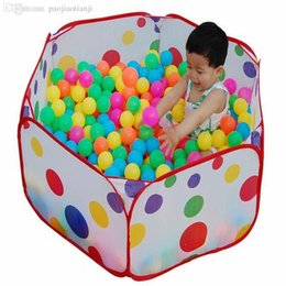 Wholesale Tent Pool Ball Pit - Wholesale-Ocean Ball Pool Ball Pits Pool Folding Sand Toy Outdoor travel Playing tent