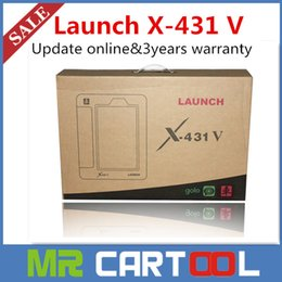 x431 launch free shipping Canada manufacturers - 100% Original Launch X431 V Pro WIFI Bluetooth Global Version Full System Scanner Update Online 3year warranty DHL Free shipping