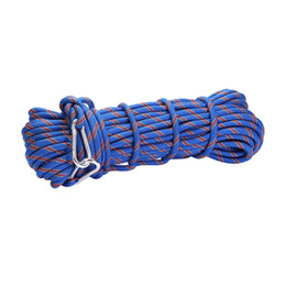 Wholesale rock equipment - Wholesale-15mm Rock Climbing Rope 10mm Diameter Outdoor Mountain Climbing Equipment Auxiliary Safety Ropes