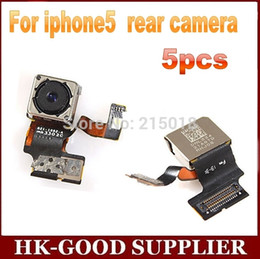 Wholesale Iphone5 Rear - Wholesale-5pcs wholesale Original 800W lens back camera For iphone5 rear camera freeshipping
