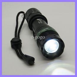 Wholesale Led Strong Light Flashlight - 1000 Lumen Cree XPE Led Zoom Light Lamp Lanterna Lamp Xpe 18650 Flash Light Torch Camping light Strong flashlight Aluminum alloy